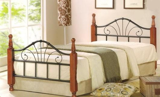Кровать AT 9128 Кованые кровати