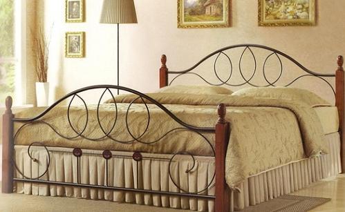 Кровать AT 9133 Кованые кровати