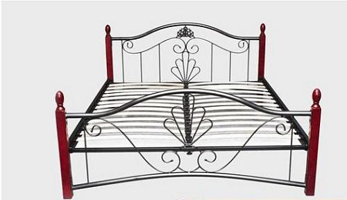 Кровать TW 5031 Metal&Wood Beds