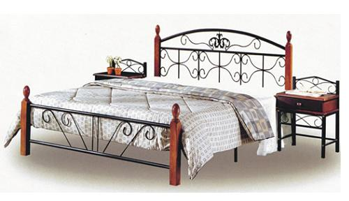 Кровать TW 5047 Metal&Wood Beds
