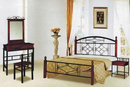 Кровать TW 5049 Metal&Wood Beds
