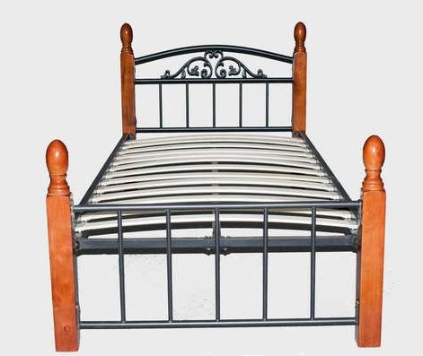 Кровать TW 5051 Metal&Wood Beds