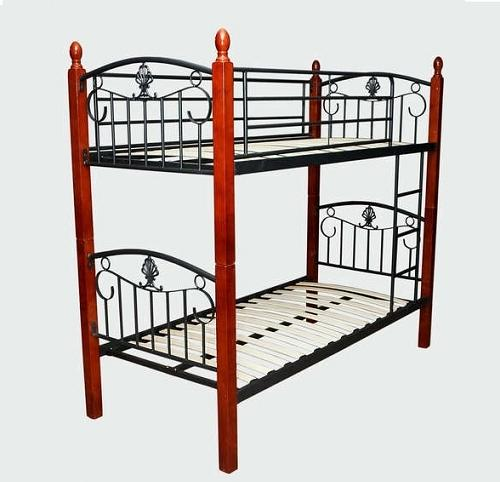 Кровать TW 5059 Metal&Wood Beds